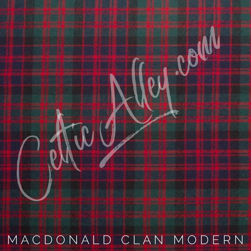 Official Tartan Plaid Face Mask In MacDonald Modern HandMade In Scotland