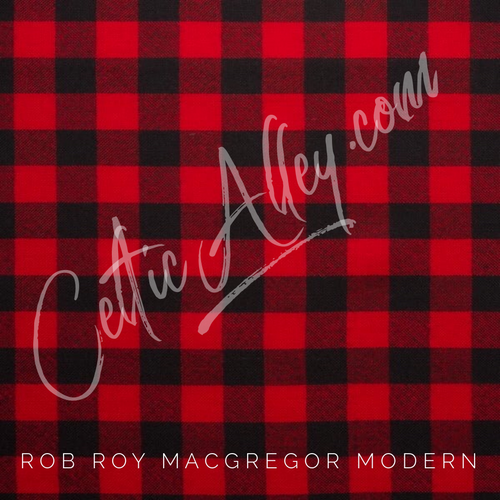 Official Tartan Plaid Face Mask In Rob Roy MacGregor Modern HandMade In Scotland