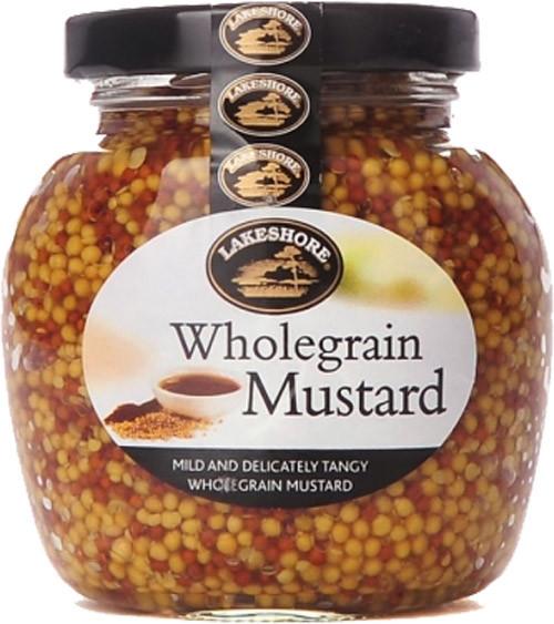 Lakeshore PLAIN Wholegrain Mustard 205g (7.2oz)