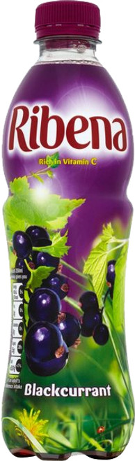 Ribena RTD Blackcurrant 500ml (16.9fl oz)