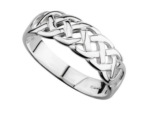 S/S Celtic Woven Ring