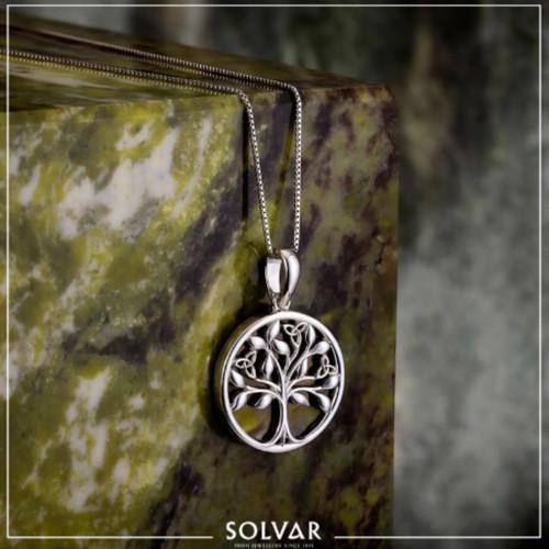 Silver Connemara Tree of Life Pendant