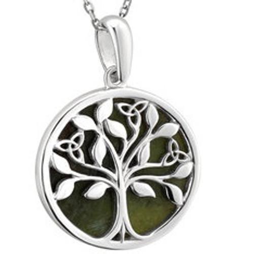 Silver Connemara Tree O'Life Pendant S46669