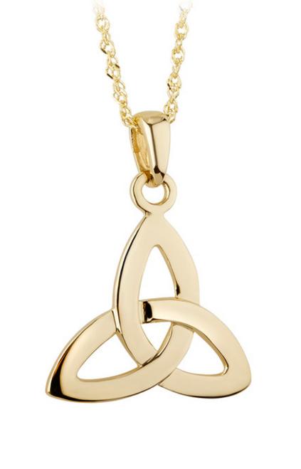 10k Small Trinity Knot Pendant S4247