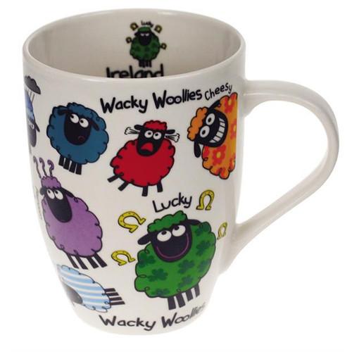 Wacky Woollies Ceramic Ireland Mug From Dublin Gift 3148