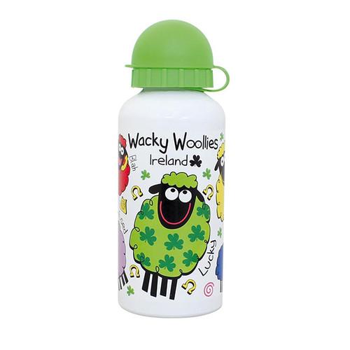 Wacky Woollies Ireland Metal Water Bottle From Shamrock Gift Co. 3071