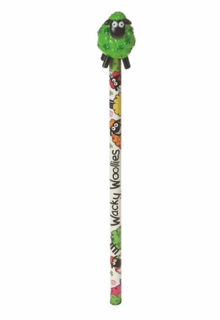 Wacky Woollies Ireland Pencil Shamrock Gift Co. 3155
