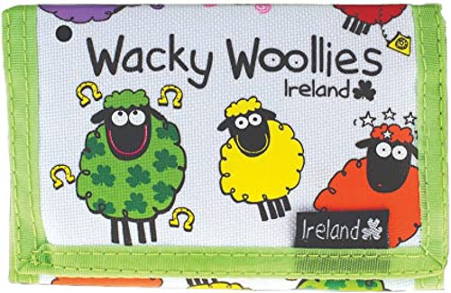 Wacky Woollies Ireland Wallet  Shamrock Gift Co. 3107