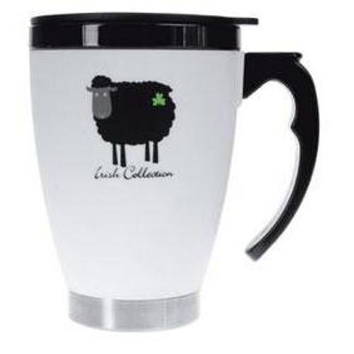 Black Sheep Collection Travel Mug  Ireland Shamrock  Gift Co. 3459