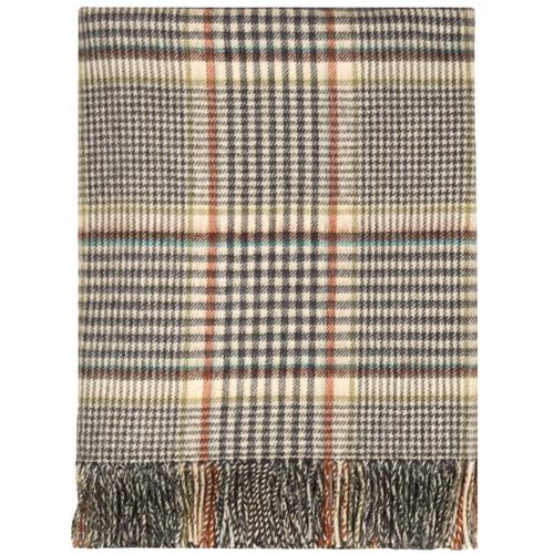 Clyde Tartan Lambswool Throw Blanket