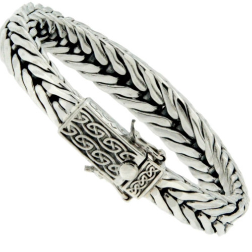 "S/S Dragon Weave Graduated Eternity"" Bracelet PBS7100 From The Keith Jack Dragon Weave Collection"