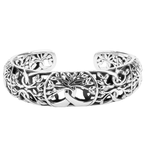 TREE OF LIFE Bangle Bracelet in Sterling SilverPBS9003 by KEITH JACK