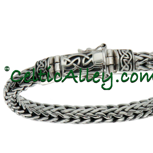"""Sterling Silver Dragon Weave Eternity Clasp 20"""" Chain PNS7300 KEITH JACK"""