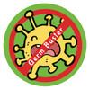 Germ Buster Green Sticker