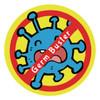 Germ Buster Yellow Sticker