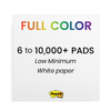 Full Color Post-it® Notes
