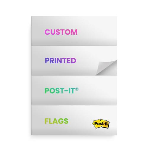 Custom Printed Post-it Note Flags