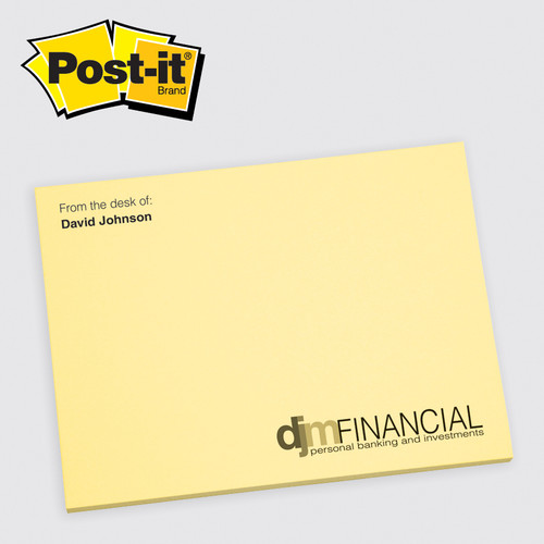 Low Minimum Printed Post-it® Notes