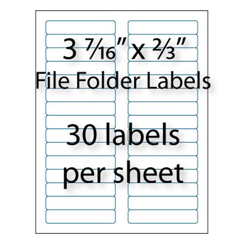file folder labels  16 u0026quot  x 2  3 u0026quot