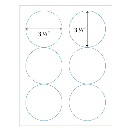 3 1 3 round labels avery compatible stik2it custom labels