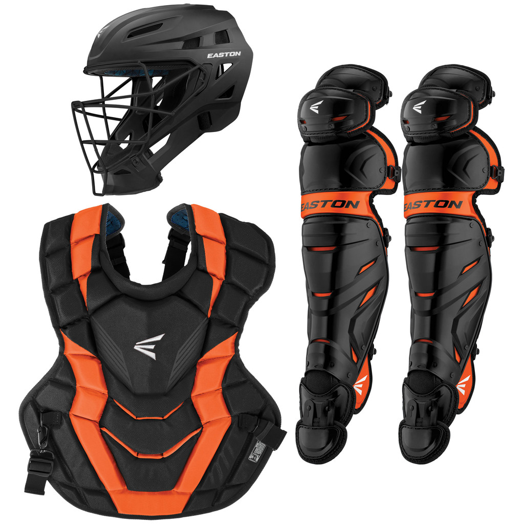 Easton Elite X Youth Baseball/Softball Catcher's Package