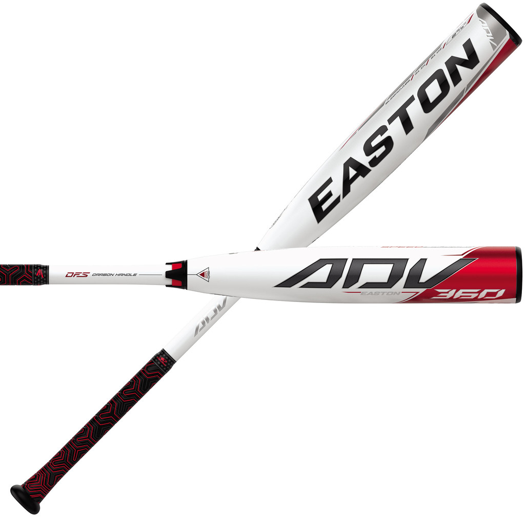 Easton ADV 360 2-5/8 USSSA (-10) SL20ADV108 Senior League Baseball Bat
