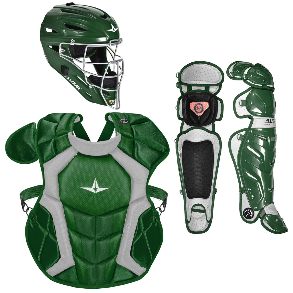 All-Star System Seven Pro NOCSAE Adult Baseball Catcher's Package