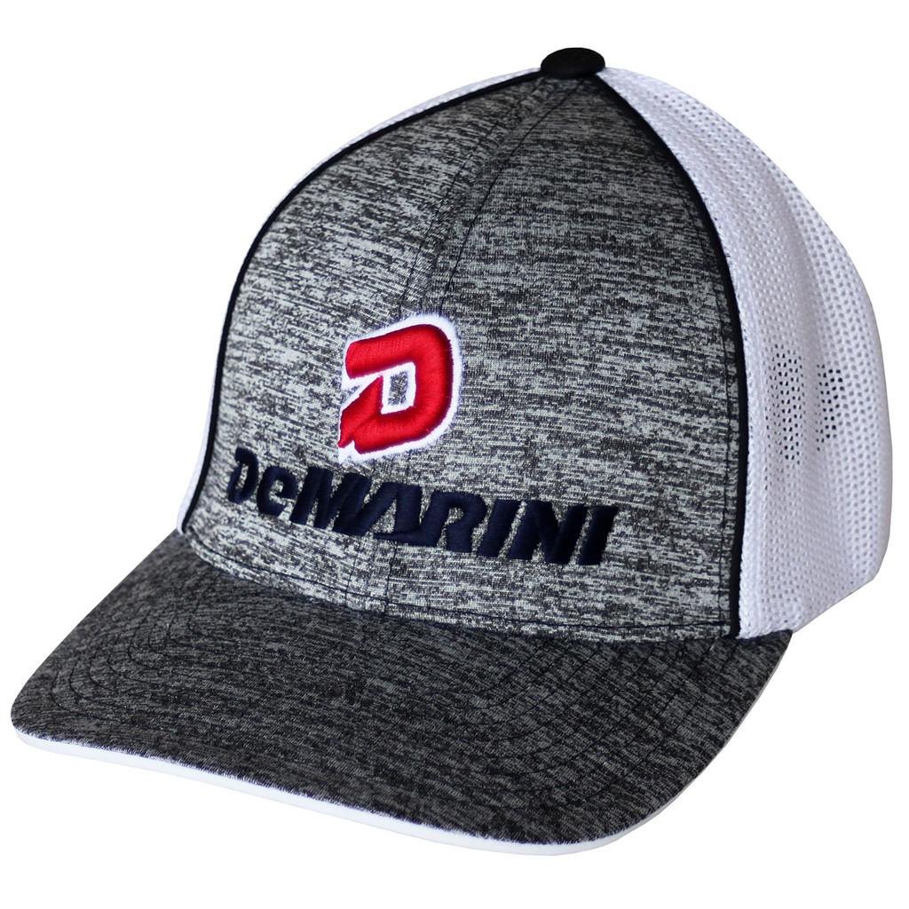 6ca1adae4e809 DeMarini Stacked D Heather Baseball Softball Trucker Hat ...
