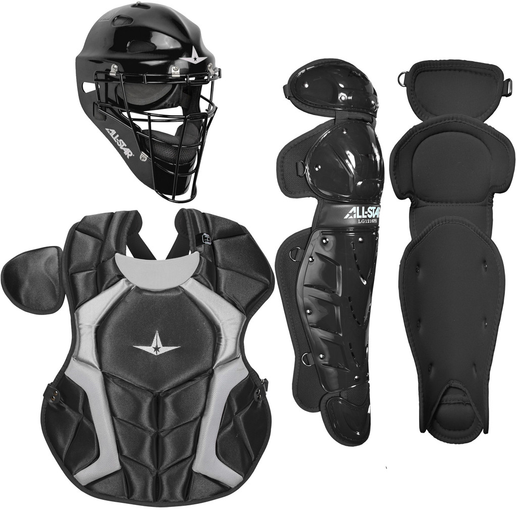 All-Star Players Series NOCSAE Youth 7-9 Baseball Catcher's Package