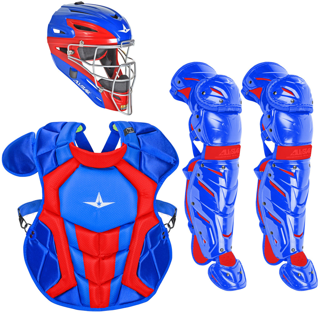 All-Star System7 Axis Travel Team NOCSAE Intermediate Catcher's Package