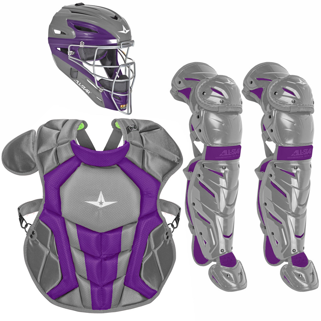 All-Star System7 Axis Travel Team NOCSAE Youth Catcher's Package