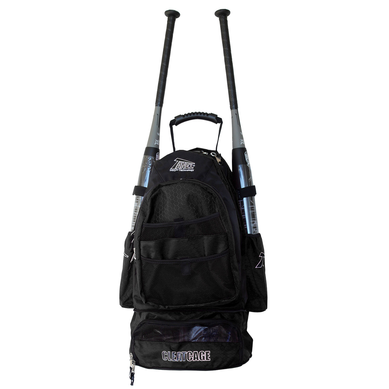 Tanel 360 BatPack Baseball/Softball Backpack Bag