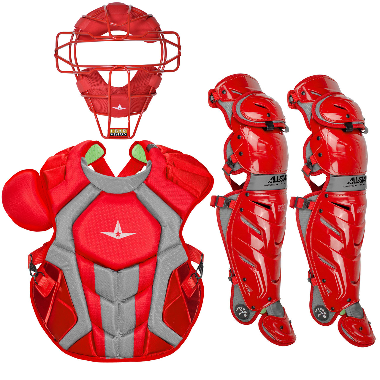 All-Star System7 Axis TM Adult NOCSAE Baseball Catcher's Package