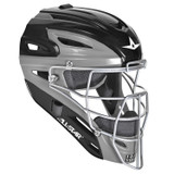 All-Star Graphite Two-Tone Youth Baseball/Softball Catcher's Helmet