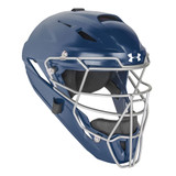 Under Armour Converge Solid Youth Baseball/Softball Catcher's Helmet