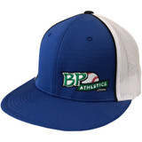 BP Athletics Flat Bill Baseball/Softball Flex-Fit Hat (BPAR165B)