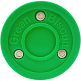 Green Biscuit Orginal Hockey Passing/Stick Handling Puck