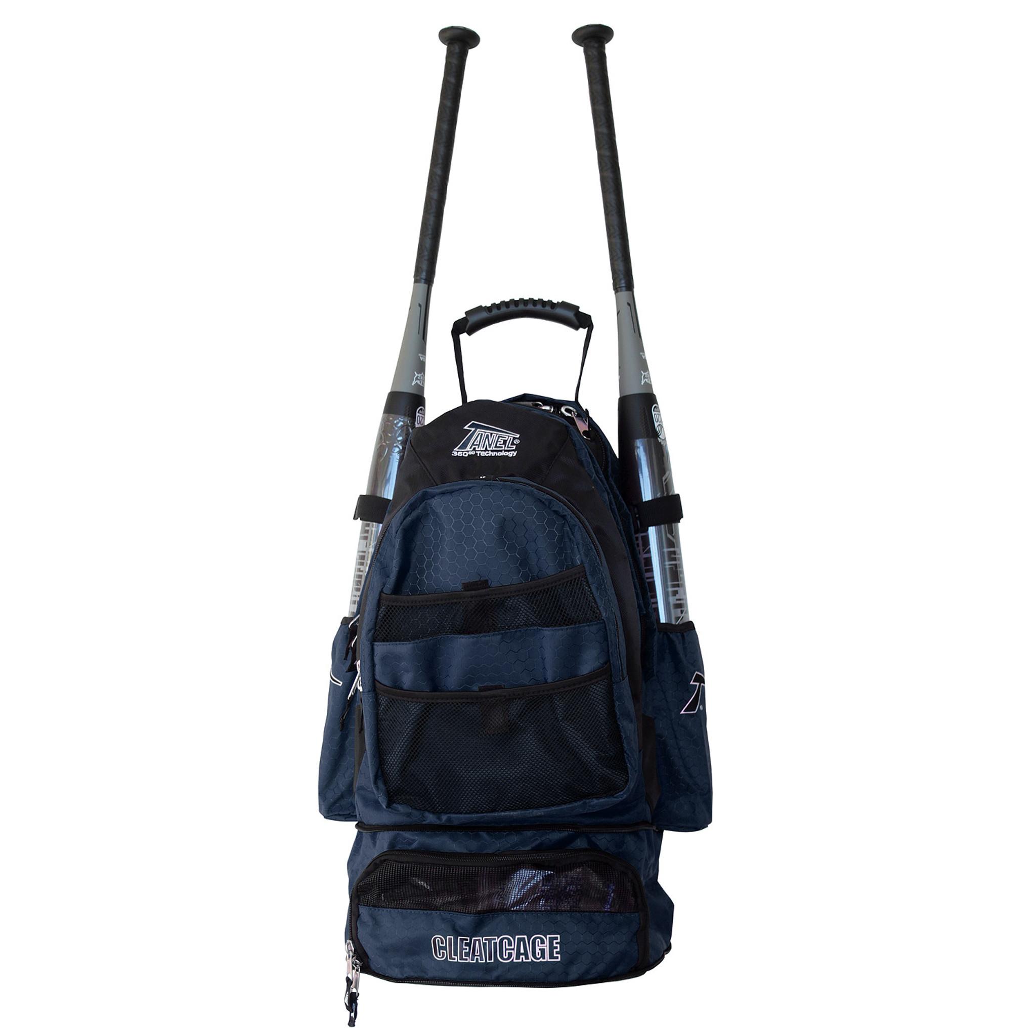 8a59550dd6a4 Tanel 360 BatPack Baseball/Softball Backpack Bag - BPAthletics.com
