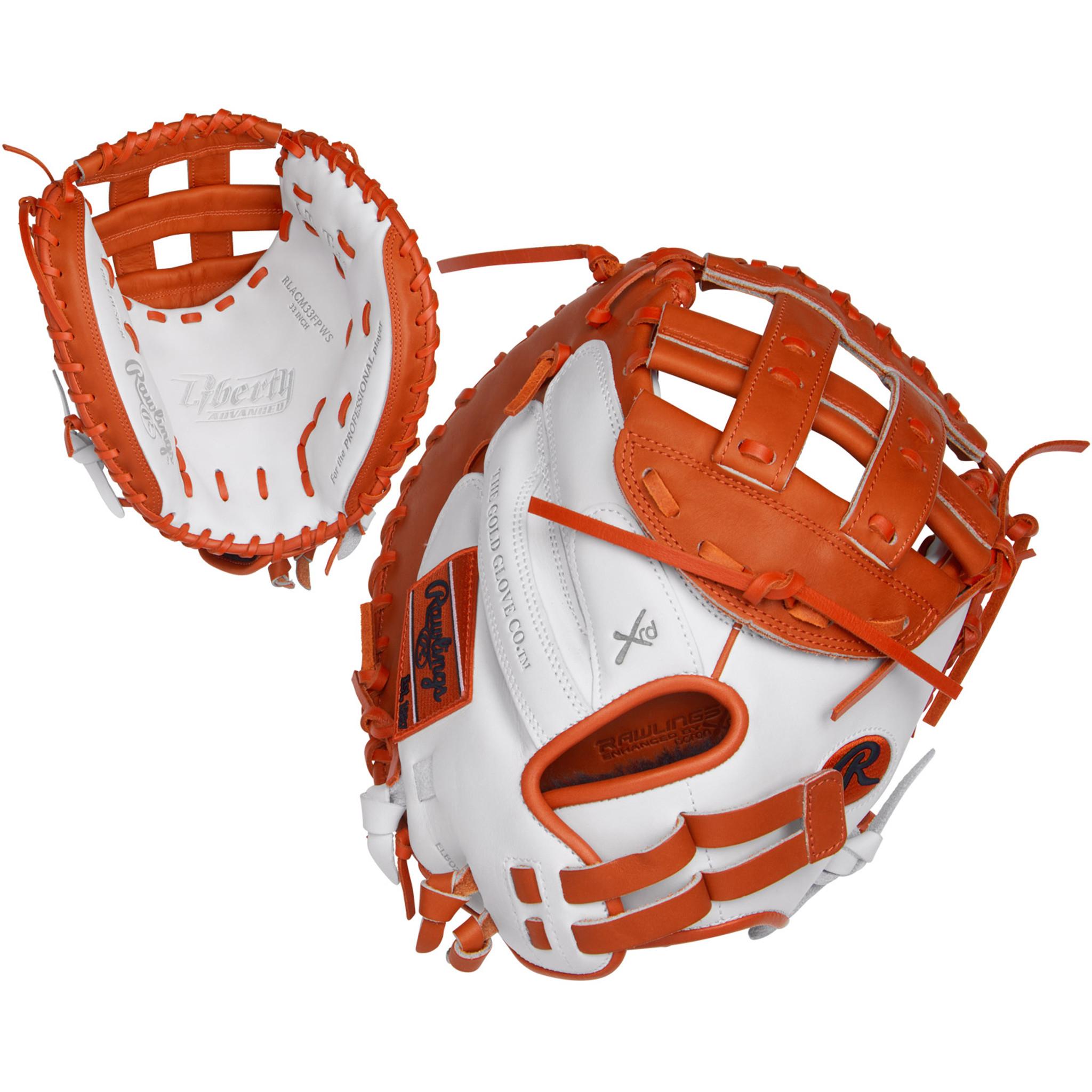 Rawlings Liberty Advanced 33 Inch RLACM33FPDG Fastpitch Softball Catchers Mitt
