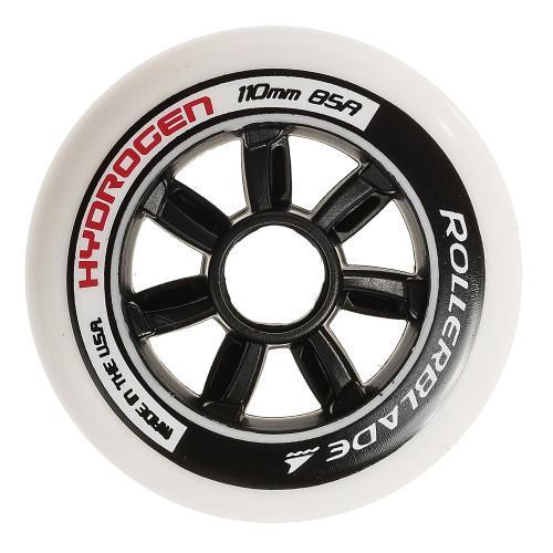 Rollerblade Hydrogen 110mm 85A Inline Skate Wheels - 6 Pack