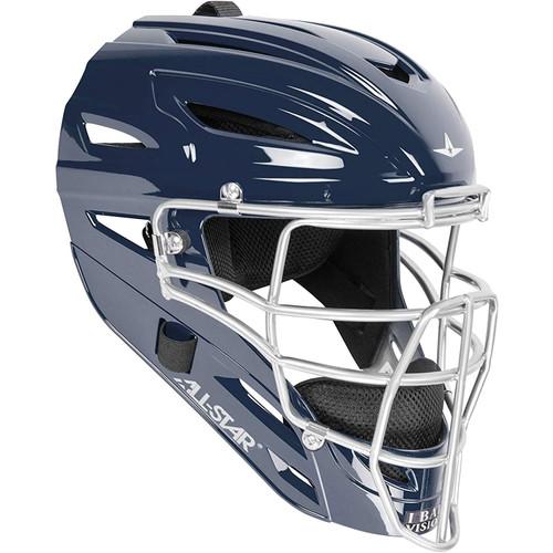 All-Star System 7 Adult MVP4000 Baseball Catcher's Helmet w/Super Light Cage