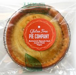 Butternut Squash Red Lentil Dhal Pie