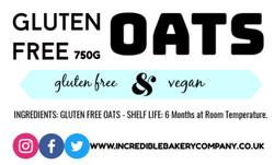 Gluten Free Oats (750G)