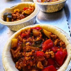 Sunflower Mince & Onion Pie