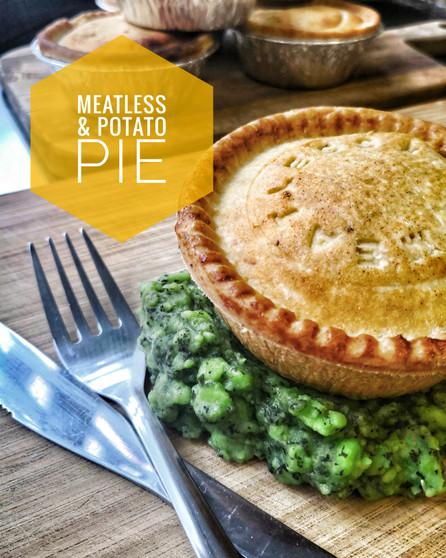 Meatless & Potato Pie