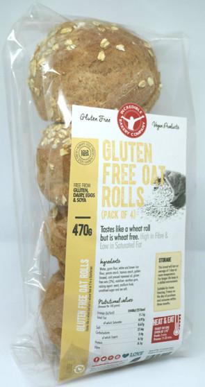Gluten Free Oat Rolls (Pack of 4)