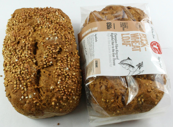 Incredible Buckwheat Loaf Gluten Free and Vegan Loaf.