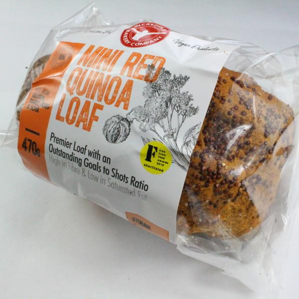 Mini Red Quinoa Loaf
