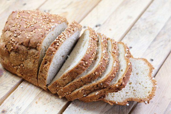 Incredible Buckwheat Loaf Gluten Free and Vegan Loaf.