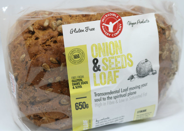 Incredible Onion and Seeds Loaf (Bundle of 4 Loaves)